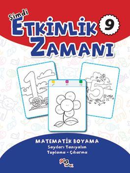 Şimdi Etkinlik Zamanı 9 - Matematik Boyama