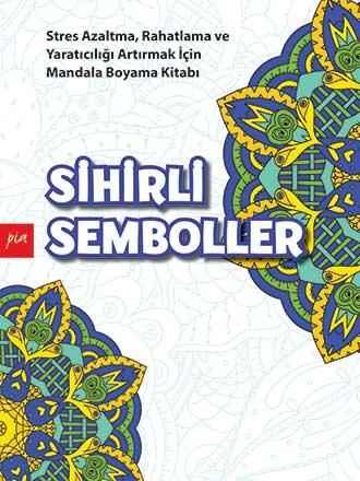 Sihirli Semboller Mandala Boyama Say Kitap