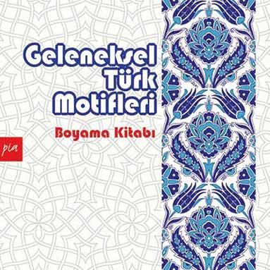 Geleneksel Türk Motifleri Mandala Boyama Say Kitap