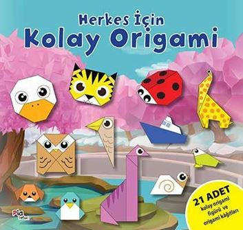 Herkes İçin Kolay Origami resmi